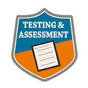 Testing & Assessment Badge
