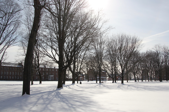 Winter STCC Campus
