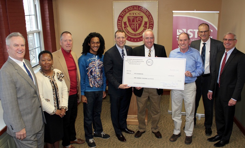 Check presentation to STCC Foundation (cropped image)