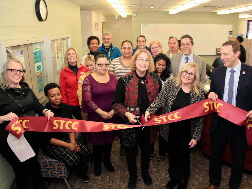 STEM Center Ribbon Cutting