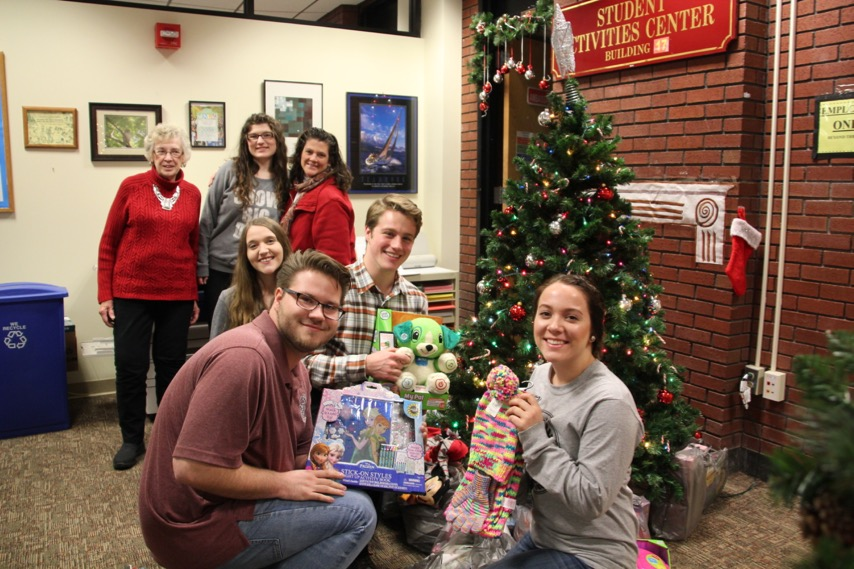 Students provide gifts for needy children